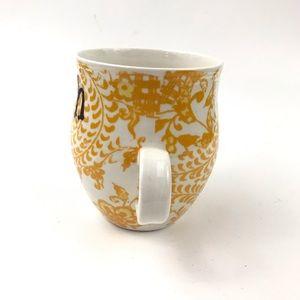 Anthropologie Dining - Anthropologie Monogram H Homegrown Initial Mug